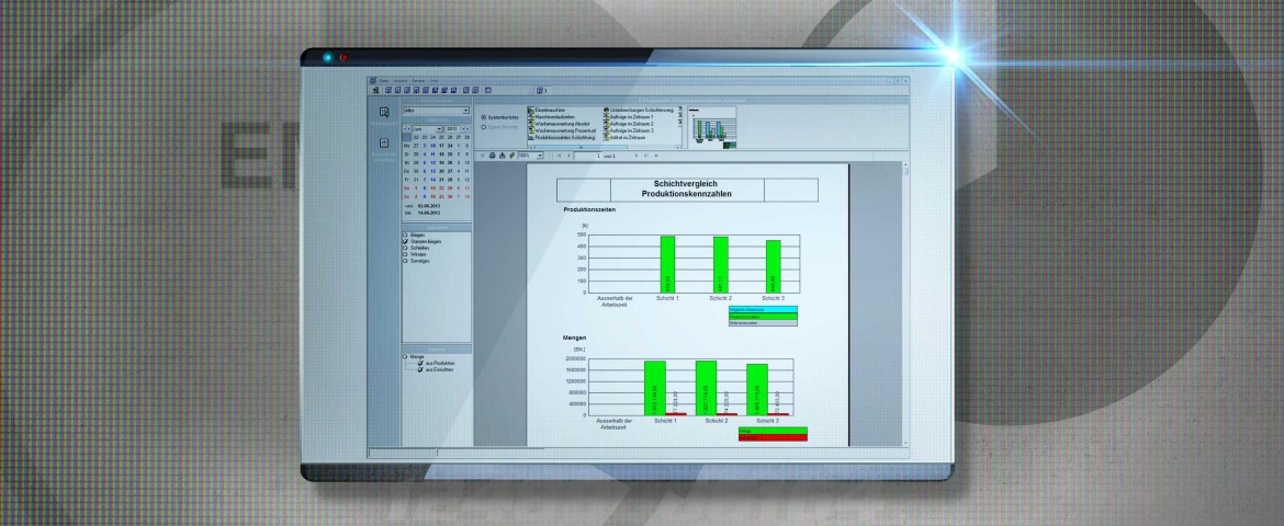 IT Engineering MES EMC Screen 2 Produktionscontrolling