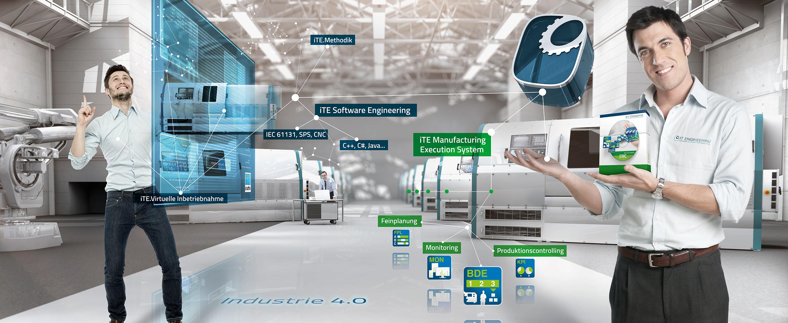 IT Engineering Software Engineering für Maschinen (SWE) und Manufacturing Executing System (MES)